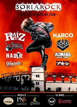 cartel soria rock 2018_2