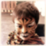 Tiger face painting, All Fun Face Painting, Perth WA