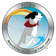 Fitou - Mascotte de Flying-Tour Paramoteur