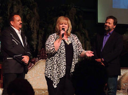 Singing for Joel Hemphill's Birthday