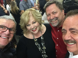 With Mark Lowry at Family Fest