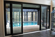 Indoor Pool Dividing Wall by ActivWall