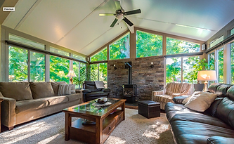 Model 300 Three Season Sunroom by Sunspace