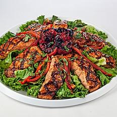 Grilled Glazed Salmon