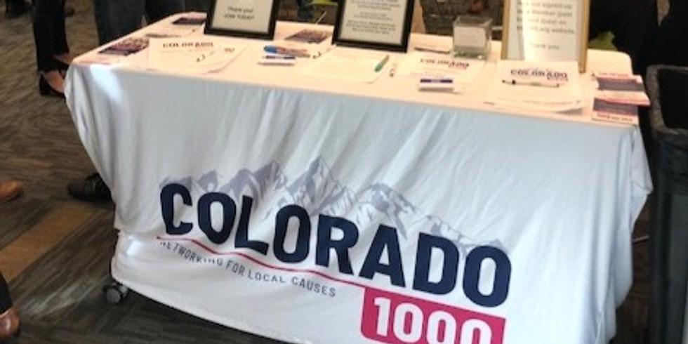 Colorado 1000 General Meeting via Zoom @ 10am!