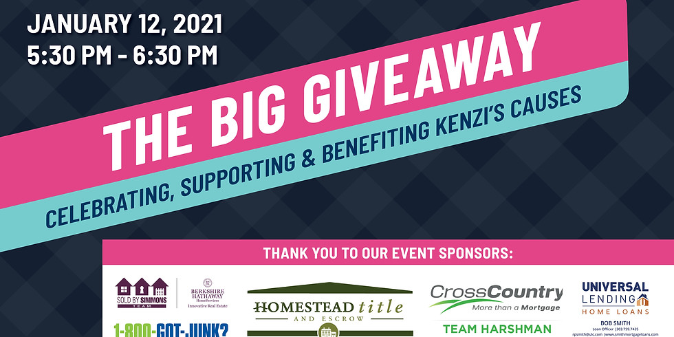 """CO1000.org """"The Big Giveaway Event"""", Benefiting Kenzi's Causes!"""