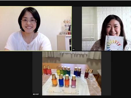 オンライン講座でカラーセラピストが誕生しました!