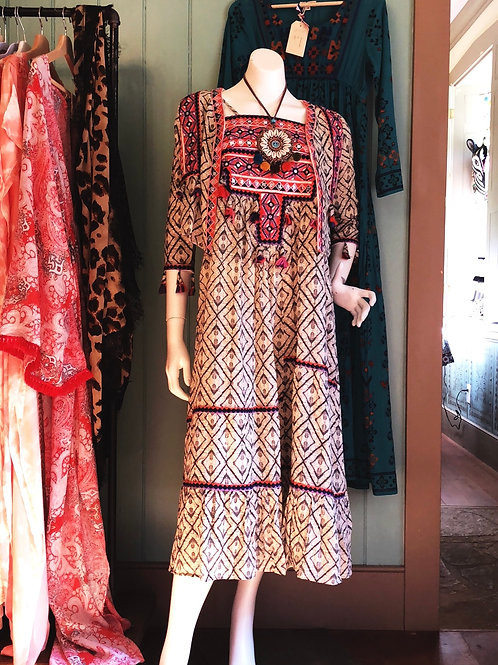 Tribal cotton boho banjara jacket