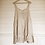 Thumbnail: Greta beige linen sleeveless dress