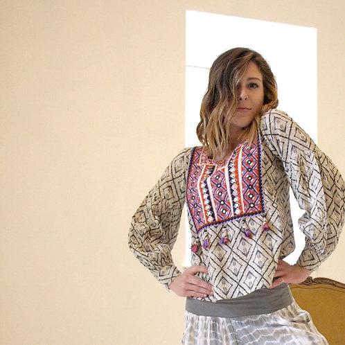 Boho banjara blouse