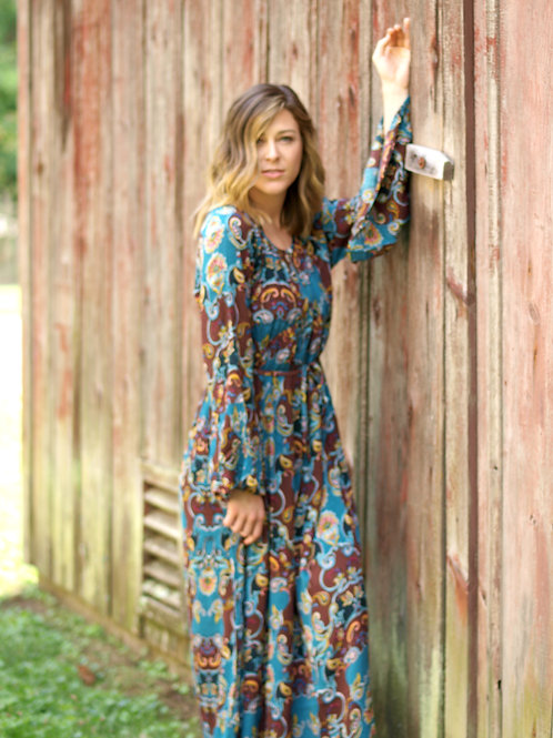 Blue Bayou maxi dress