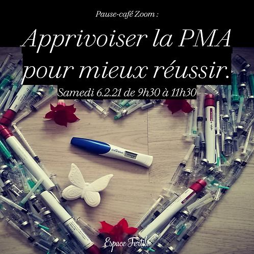 6.2.21 - Pause-Café Zoom - Apprivoiser la PMA pour mieux réussir.