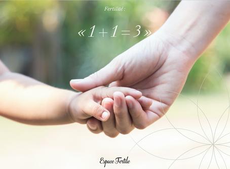 Fertilité : 1 + 1 = 3