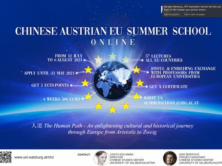 Chinese-Austrian-EU Summer School by University of Salzburg, Austria