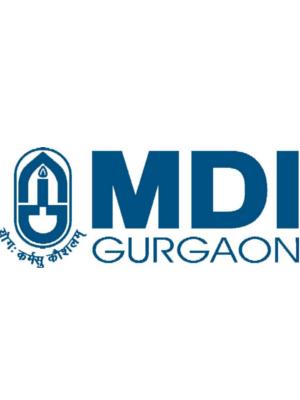 MANAGEMENT DEVELOPMENT INSTITUTE GURGAON