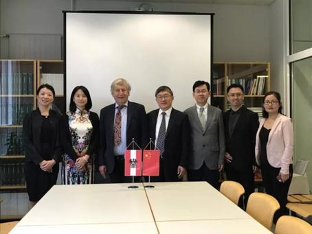 Beijing Dance Academy Visits EPU Association