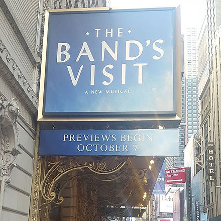 A new musical The Band's Visit begins previews tomorrow! I interviewed Tony Shalhoub and John Carian