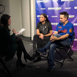 Interviewing Lin-Manuel Miranda at BroadwayCon 2018