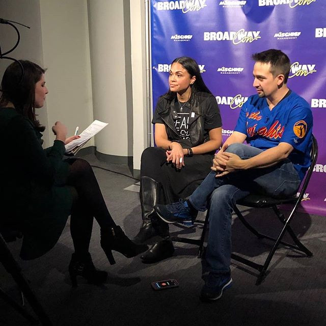 Interviewing Lin-Manuel Miranda at BroadwayCon 2018