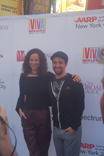 Lin-Manuel Miranda Wrote a New Song for Mandy Gonzalez