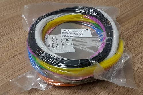 3D筆 線材 12色 各6.1M長