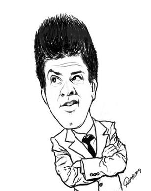 2011 - Caricatura Oscar Filho