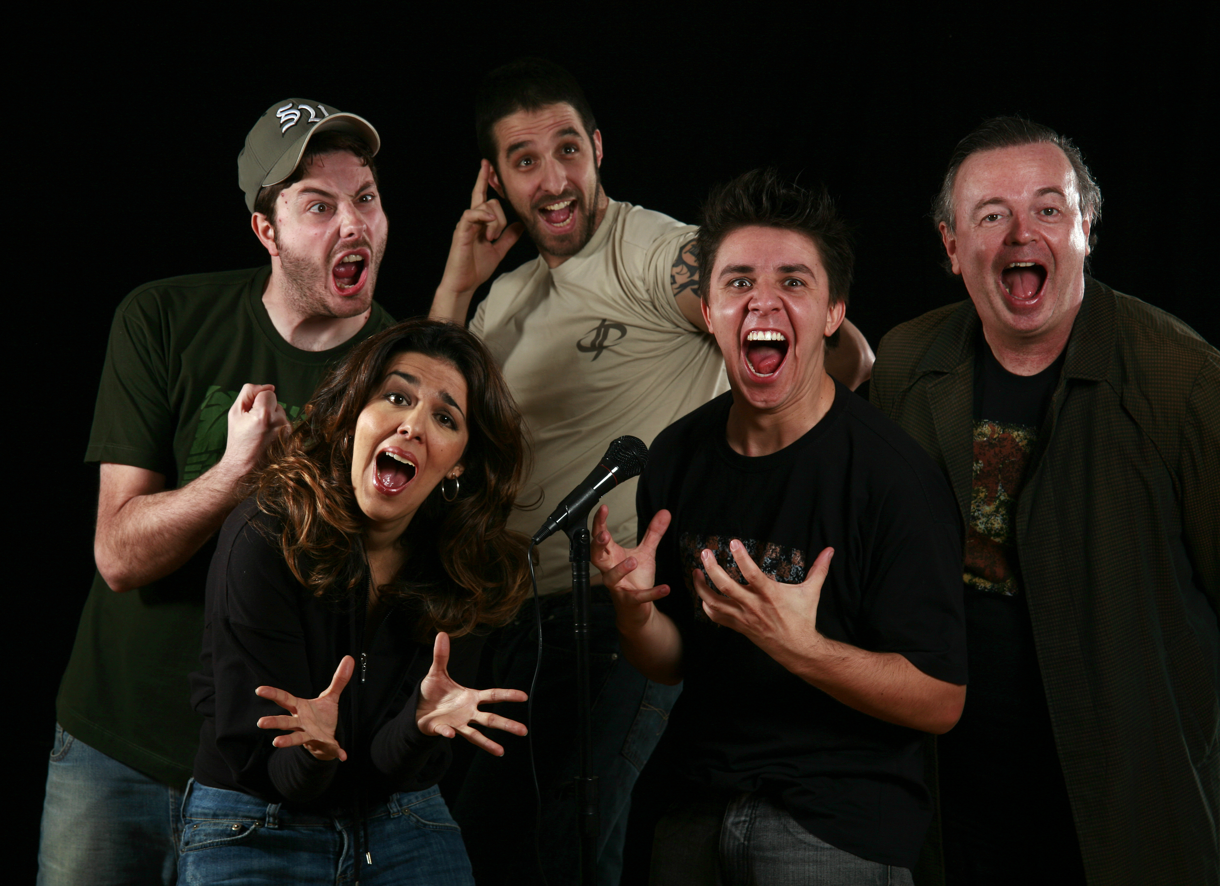 2007 - Clube Da Comédia Estúdio - SP