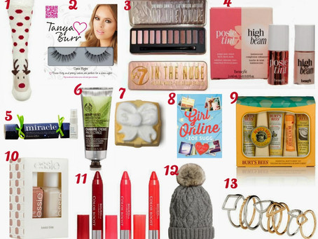 Christmas Gift Guide | Stocking Fillers