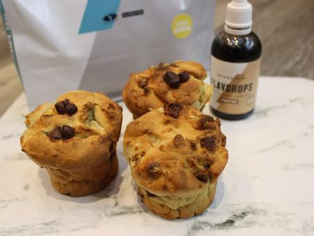 Banoffee Protein Muffins