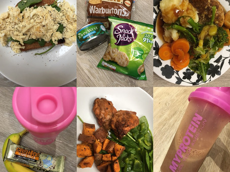 WHAT I EAT IN A DAY | BULKING