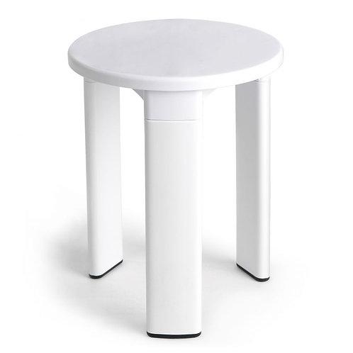 Banco Branco WC anti-derrapante