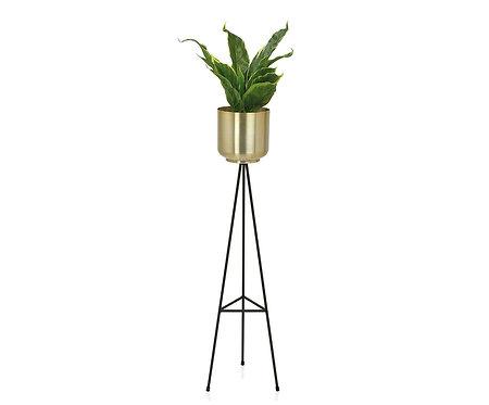 Vaso Pequeno com pés Metal/Latão