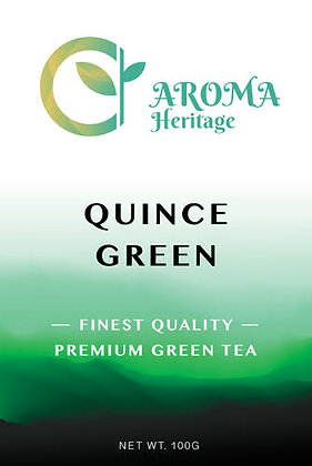 Quince Green Tea by Aroma Heritage