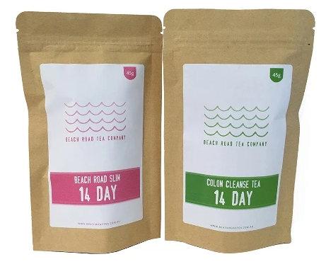 Beach Road Slim Tea 14 days Program