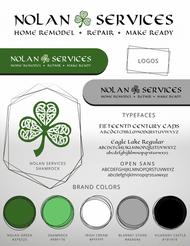 Brand Board for Nolan Services