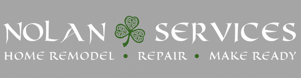 Nolan Services Logo on Light Background.