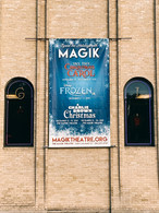 Large Outdoor Banner for Magik Theatre
