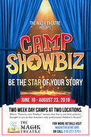 Print Ad Design for Camp Showbiz
