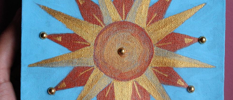 Mandala Estrela Guia