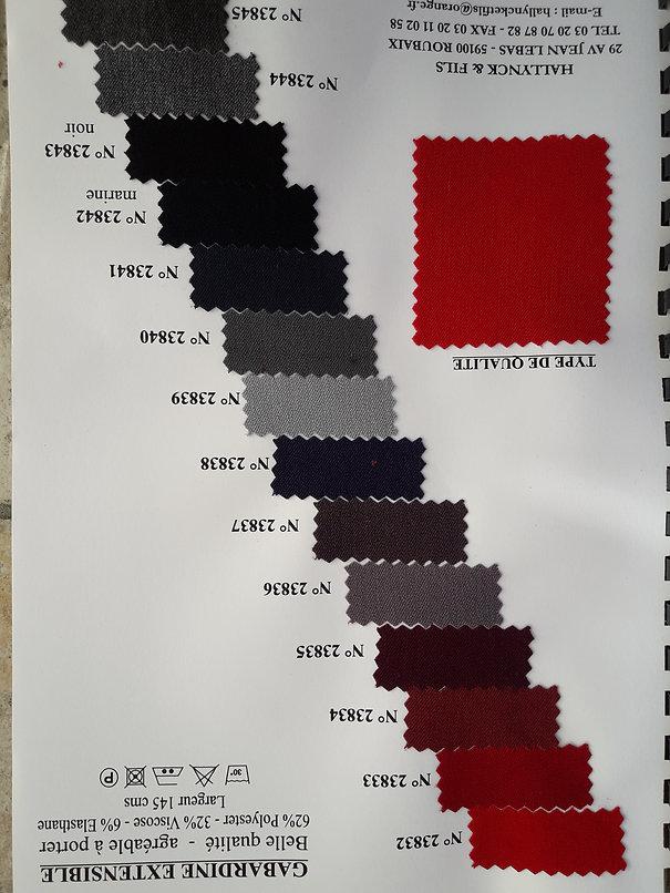 MINA.T Couture vous propse cettebelle gamme de Gabardine extensible pour des créations de jupe, robe ou top à vos mesures ! à cmmander sur www.minatcouture.com