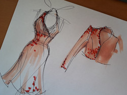 idée ensemble robe veste