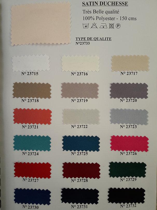 MINA.T Couture vous propose cette belle gamme de Satin pour des crétions de jupe, robe ou top à vos mesure ! à commander sur www.minatcouture.com