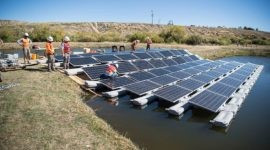 Floating solar – one way to reduce use of quality ag land