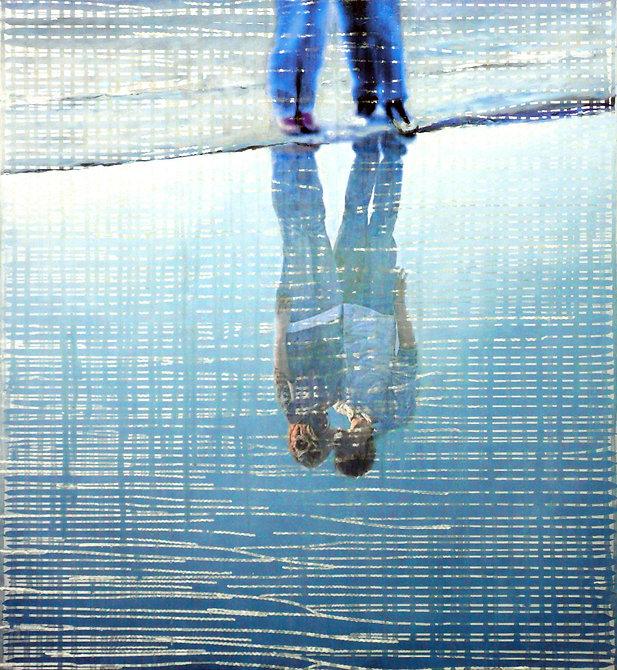 Ralf-Rainer Odenwald  |  Am Meer  |  2017 | 110x120 cm