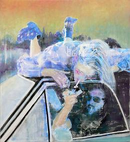 Ralf-Rainer Odenwald  |  Feuer  |  2014 | 110x120 cm