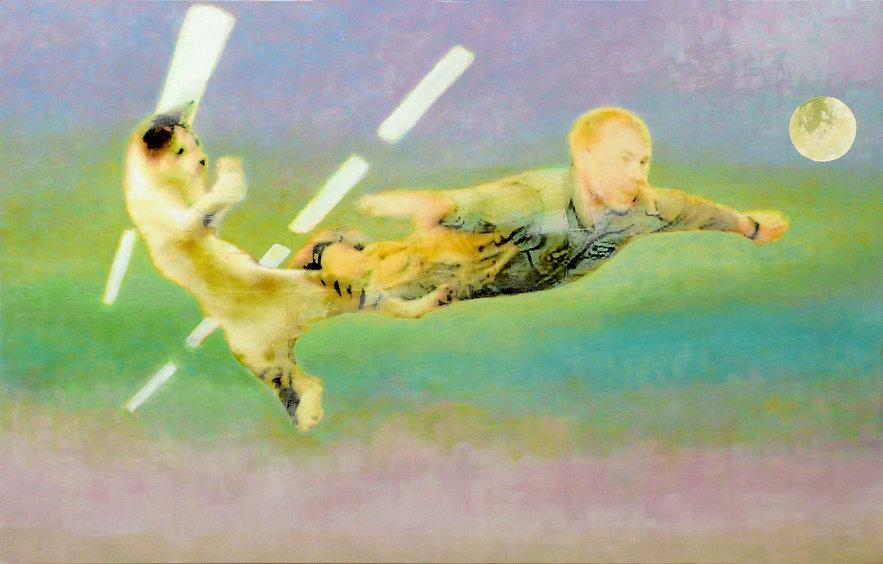 Ralf-Rainer Odenwald  |  Abheben  |  2010 | 180x115 cm