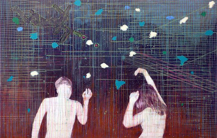 Ralf-Rainer Odenwald  |  Stille Nacht  |  2015 | 180x115 cm