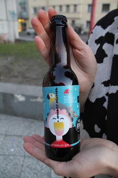 Beer label Smädný Michal