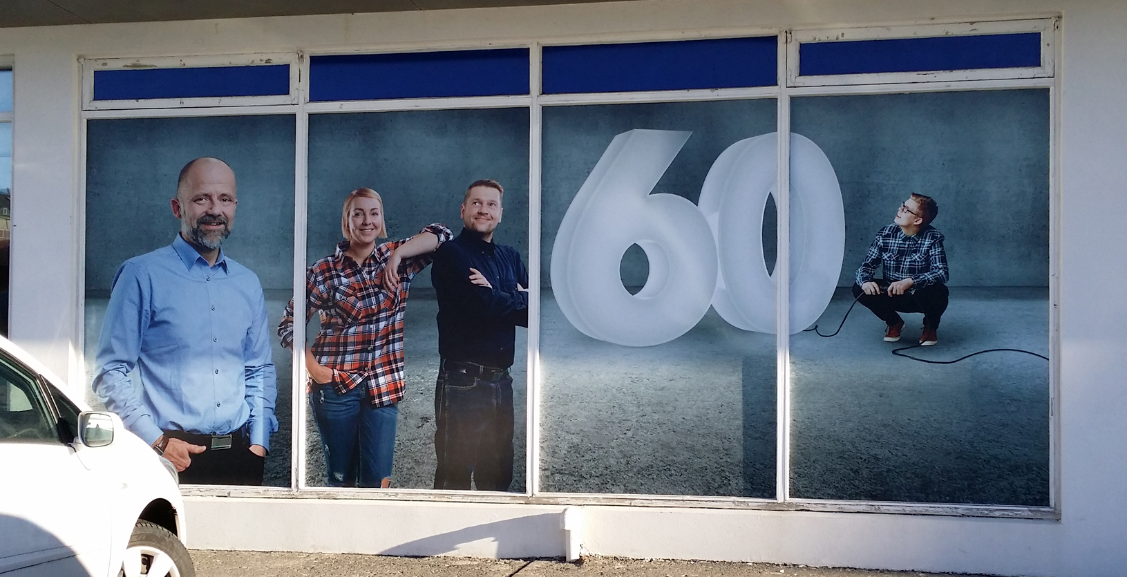 Reykjafell 60 ára