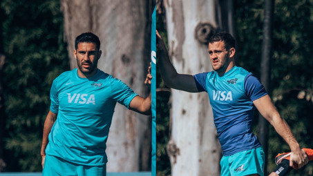 Esperando por 3 jugadores, Los Pumas están en Uruguay con Ortega Desio en el plantel